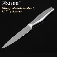 """XITUO 5""""inch kitchen knife Sharp Stainless steel paring knife meat cleaver Steak Peeling Utility Knives kitchen accessorie tools"""