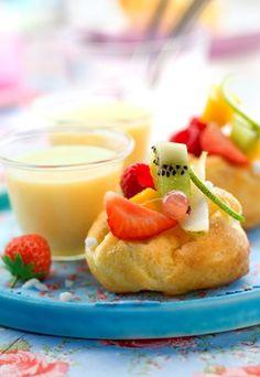 choux a la creme -Recette de petits choux aux fruits - Choux à la crème : recette de choux a la creme et recette d'éclairs