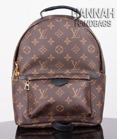 ed21ad1d0512 Comparison between a fake and genuine Palm Springs Backpack PM Monogram, it  is clear that the fake is made of inferior quality materials