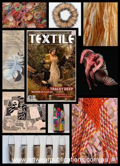 Soon to be here is Moira Simpson's first issue of Textile Fibre Forum as editor