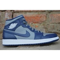 Buty Sportowe Nike Air Jordan 1 Mid Numer katalogowy: 554724-006