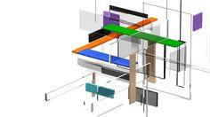 The basic idea was to create a looping 3D animation of abstract forms, look like a exhibition stands. This project is made for the background of the customer site.  Основная идея заключалась в создании зацикленной 3D анимации абстрактных форм, похожими на выставочные стенды. Данный проект изготовлен для фона сайта заказчика.  Client: whomakeit.com  Art direction: Roman Erohnovich Modeling: Vladimir Kupriyanov Animation: Andrey Novosad