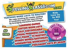 Reviews on Spelling classroom by Parents.