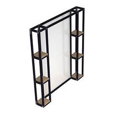 Зеркало Gustave. Мастерская Copp & Gross. Мебель ручной работы из металла и дерева.