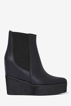 Jeffrey Campbell Waverly Leather Boot - Heels | Jeffrey Campbell | Heels |  | Boots | Shoes | Sale on Sale