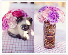 Juneberry Lane: Kooky & Colorful: A Southern California 1950s-Inspired Wedding . . .