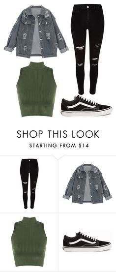 """""""style 1"""" by luciagallegos on Polyvore featuring River Island, WearAll and Vans"""