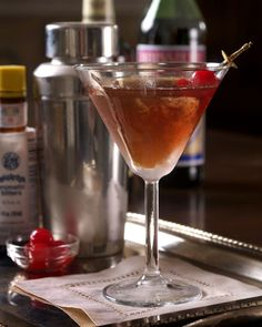 The Perfect Manhattan from Michael Ruhlman