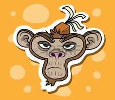 Monkey 2, Accessories, Art, Art Background, Kunst, Performing Arts, Art Education Resources, Jewelry Accessories, Artworks