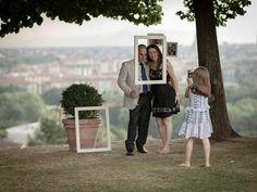 Cornici per un matrimonio in villa a Torino: Monica e Paolo