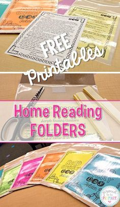 Setting up a classroom and home reading program. Includes tips and strategies to implement a reading program and how-to create reading folders with FREE parent hand-outs by Proud to be Primary