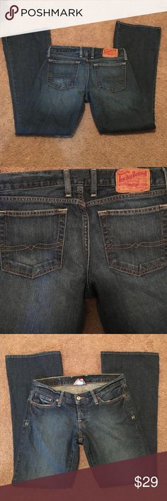 Lucky Brand Jeans - 4Short Lucky Brand Jeans. Great condition. Size 4 with a short inseam. Lucky Brand Jeans Flare & Wide Leg
