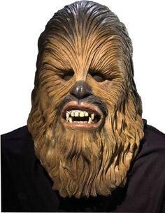 Mens Star Wars Deluxe Latex Chewbacca Mask Multicolor One Size ** Details can be found by clicking on the image.