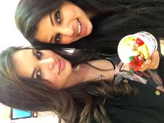 Farah and I having a blast at kiwiyo