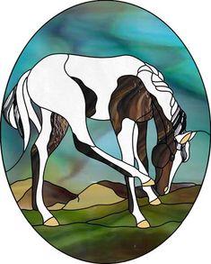 Animals « Best Stained Glass Patterns #StainedGlassHorse