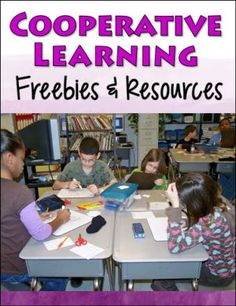 Cooperative Learning Freebies and Resources from Laura Candler