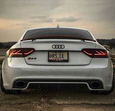 Audi RS5 White