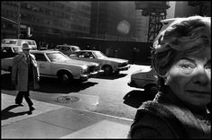 """New York City, or as Bruce Gilden calls it """"A Beautiful Catastrophe"""". This Magnum Photos touring exhibition catalogues Gilden's explorations of the streets of"""