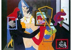 R.B. Kitaj, 'An Early Europe,' 1964, Centre for Fine Arts (BOZAR)