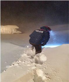 Roccaraso salvati camperisti bloccati sulla neve