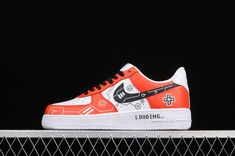 Cheap Nike AF1 Air Force 1 07 Red White Black Casual Shoes CW2288-112 Air Force 1, Nike Air Force, Black Casual Shoes, Nike Af1, Newest Jordans, Red And White, Sneakers Nike, Cheap Nike, Fashion