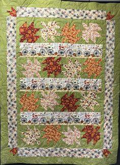 Pinwheel Fabrics sample of Autumn Road by Wilmington Prints
