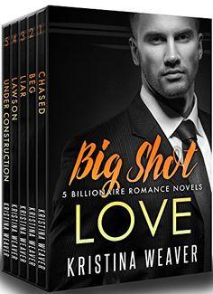 BIG SHOT LOVE: 5 Billionaire Romance Books Bundle by Kristina Weaver http://www.amazon.com/dp/B01DFSGRAK/ref=cm_sw_r_pi_dp_XVu.wb1VTJ9X5