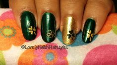 St. Patrick's Day Special : Shamrock Nails