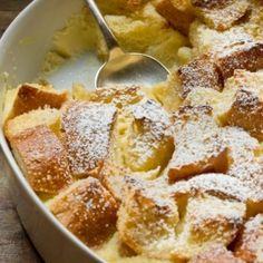 Eggnog Breakfast Bread Pudding.
