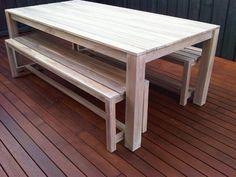2 x TEAK BENCH SEATS 180CM LONG WITH LIMEWASH FINISH STUNNING! TABLE NOT INC