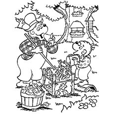 Top 25 Free Printable Berenstain Bears Coloring Pages