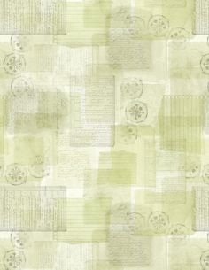 Green Beige Quilt Fabric, 3023-39669-777, Forest Study Parchment All Over Green, Wilmington Prints by Jambearies on Etsy