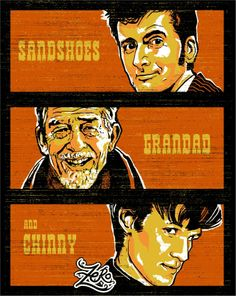 Sandshoes, Grandad, and Chinny