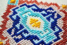 Geometric cross-stitch