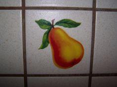 On Kitchen Tile