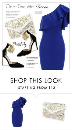 """Dresslily"" by water-polo ❤ liked on Polyvore featuring dress and polyvoreeditorial"