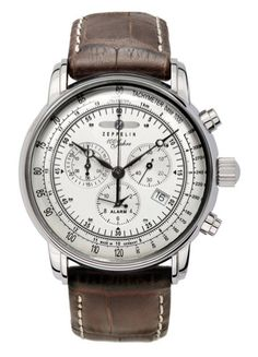 Graf Zeppelin Men's Chronograph Watch 7680-1 Review: 100th Year Anniversary