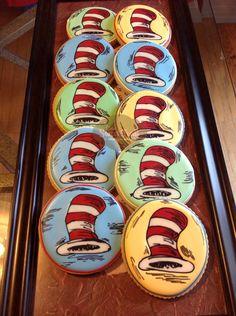 #Cookies - Dr. Seuss cookies. OneSweetTreat.com