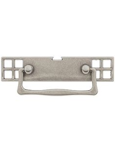 """Mackintosh Bail Pull with Pierced Back plate - 2 1/2"""" Center-to-Center 