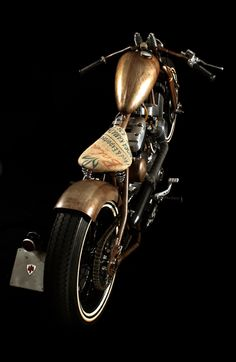 Bobber Inspiration | Ruggine, Harley bobber by AQG | Bobbers and Custom Motorcycles