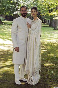 Prince Rahim Aga Khan and Princess Salwa Aga Khan