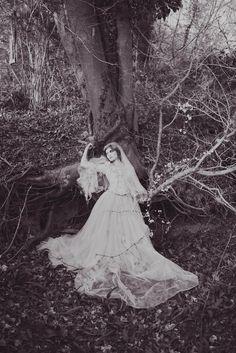 The Tea Set. Styling. Modern Miss Havisham. Alternative Wedding. Bride. Photography Farm.