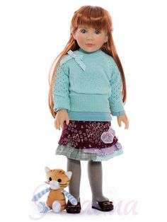 Kidz 'n' Cats Jana. One of the 2017 collection of Kidz 'n' Cats dolls which should be available from July 2017. We aren't sure yet if the cat is included, but it might be!