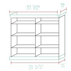 Ikea hack: adding beveled crown moulding to Billy bookcases @
