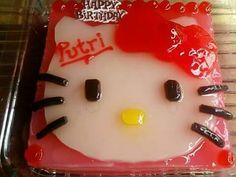Hello kitty pudding