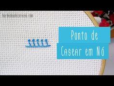 Bordado Livre Aprenda a bordar o Ponto Espiga Mais detalhes no blog: http://bordadosdecoracao.com/ponto-espiga/ http://facebook.com/loja.bordadosdecoracao ht...
