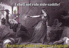 Google+ #Regency #Saddle #Sidesaddle #Horseback http://www.lahilden.com/index.php?categoryid=6&p2_articleid=159 Horse Saddles in Regency England