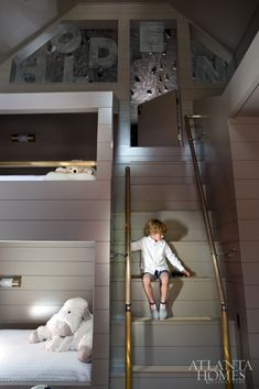 1000 images about bunk rooms kids on pinterest bunk for Rooms to go kids atlanta