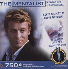 The Mentalist 750 Piece Red Riding Hood Mystery Jigsaw Puzzle NEW #ck15