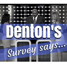 Hey all we\'re working on a Denton based Family Feud for a game night at one of your favorite venues & needing your input! Hit the link in the bio to give your answer to 10 quick questions. Feel free to comment with some ideas for questions as well. We\'ll need a bunch! Thanks.  #dentonslacker #denton #dentontx #dentoning #wddi #discoverdenton #dentonite #unt #twu #doingitdenton #wedentondoit #dentonfamilyfeud #dentonfun #dentonsquare #thedentonite